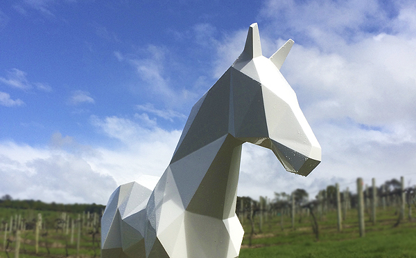 the White Horse by Ben Foster at Brick Bay winery
